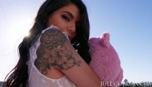 Teddy Bear Slut Gina Valentina Has Her Ass Fucked Hard