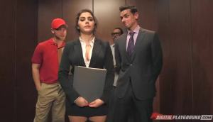 Valentina Nappi Fucked Hard In The Elevator