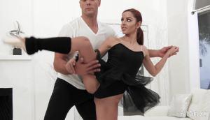 Vanna Bardot – Small But Naughty Ballerina Exercises