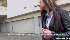 Victoria Sweet – Cute Brunette Agrees To $900 To Fuck On The Street