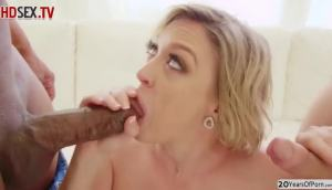 Wife With Big Milkings Agreed To Anal And Double Penetration With Husband And Black Man
